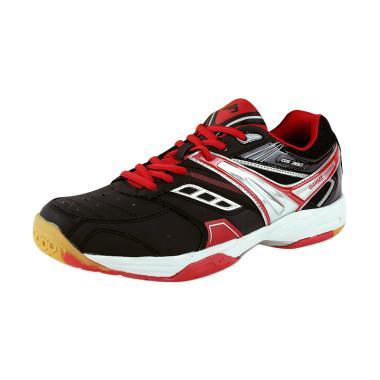Garsel Sepatu Badminton Pria - Hitam Kombinasi [GRE 7756]