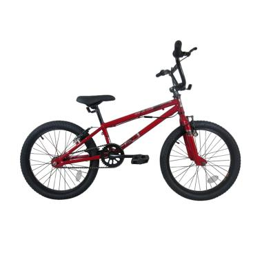 Polygon Rudge 2 Sepeda BMX - Merah [20 Inch]