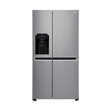 LG GC-L247CLCV Kulkas Side by Side 687 [Dispenser & Ice Maker]