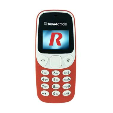 Brandcode B3310 Handphone - Orange [Single SIM GSM/ Candybar]