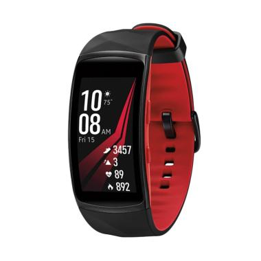 Samsung Gear Fit 2 Pro Smartwatch - Red [Small]