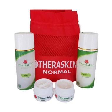 Theraskin Paket Normal Original Whitening Cream Pencerah Wajah Untuk Kulit Normal [BPOM]