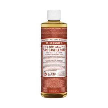 Dr Bronner's Organic Eucalyptus Castile Liquid Soap [473 mL]