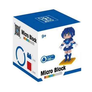 Boyu 8124A Blue Sailor Mainan Blok & Puzzle