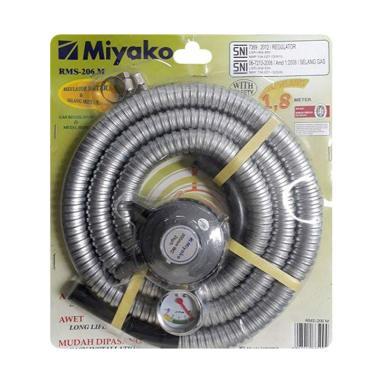 Miyako RMS-206M Regulator & Selang Gas