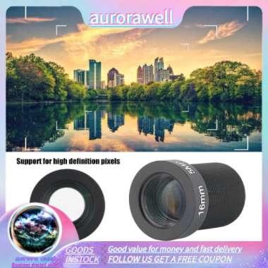 harga Aurorawell Kamera Cctv 5mp Lensa 16mm M12 Mount High Definition Wide Angle Untuk Survellance import Blibli.com