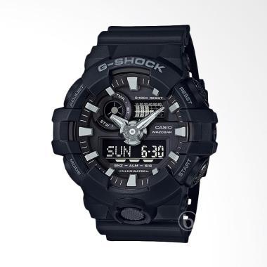 CASIO G-Shock New Edition Jam Tangan Pria- Black [GA-700-1B]