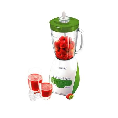 Philips Blender HR 2116 / HR2116 Kaca - Green [2L] - Bubble Wrap
