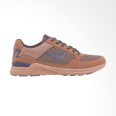 best sneakers 84bb1 d46bd HRCN Outfitters Go Lyte Sneaker Pria - Brown