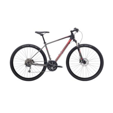 harga Polygon Heist 5 700 R Hybrid Sepeda MTB - Charchoal Blibli.com