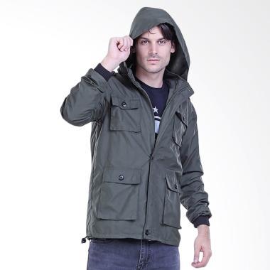 Sognoleather Outwear Male Parka Army Jaket Pria - Hijau [H 2540]