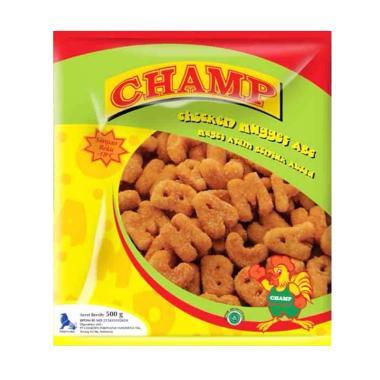 Fiesta Champ Nugget ABC Makanan Instan [500 g] x 4 Pack