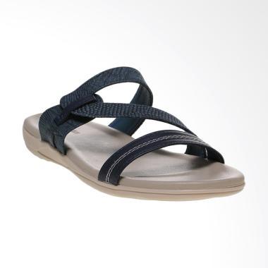Bata Ladies CARA2 - 5919412 Sandal Flat - Blue Navy