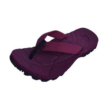 Suzuran Big Size Flip Flop Sandal Gunung Pria - Maroon [MR3]