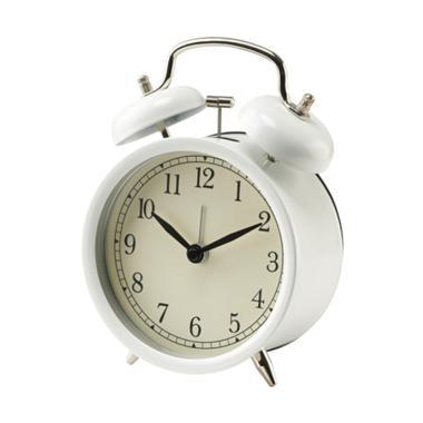 Ikea Dekad Alarm Clock Jam Waker -  White