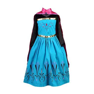 Frozen Elsa Dress Anak/ Gaun Pesta - Pink