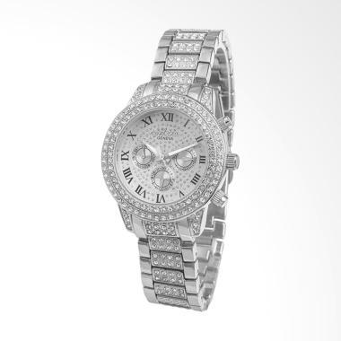 CONTENA WAT8081H Fashion Diamond La ... am Tangan Wanita - Silver