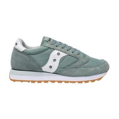 Saucony Unisex Jazz Original Sepatu ... - Green White [S2044-383]