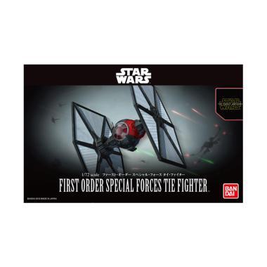 harga Bandai Star Wars Force Awakens First Order Special Forces Tie Fighter Model Kit Blibli.com