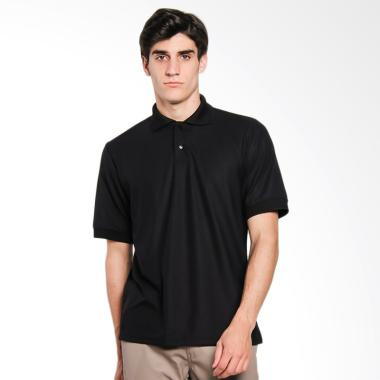 Papercut Men Dixon Polo Shirt Atasan Pria - Black