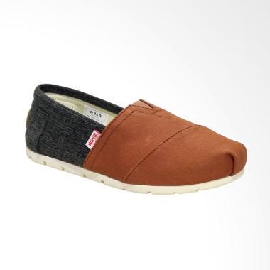 Wakai WAK-SW017BG-HANAMI Sepatu Unisex - Brown