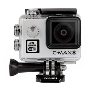 Cognos Omega 4K C-MAX 8 Action Camera - Silver [16 MP]