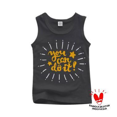 Hoofla Kids Distro STH 03 T-Shirt Anak Laki-laki - Abu
