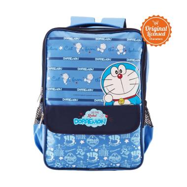 Doraemon Style A Bell Double Rucksack Tas Sekolah Anak [Size L]