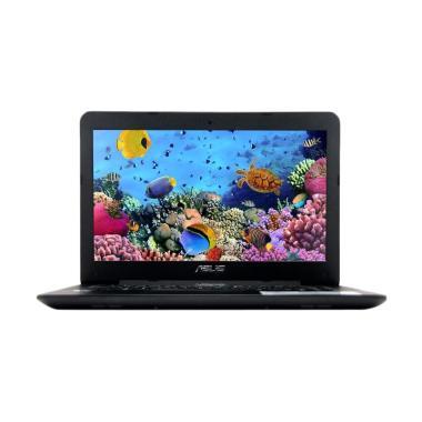 Asus X454YA-EX101T Notebook - Black [AMD E1-7010/ 2GB/ 500GB/ Win 10]