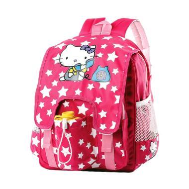 Inficlo Hello Kitty Backpack Tas Ransel Anak Perempuan - Pink