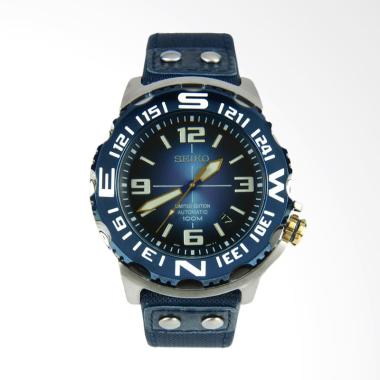 Seiko Monster Superior Automatic Divers Limited Edition Nylon Strap Jam Tangan Pria