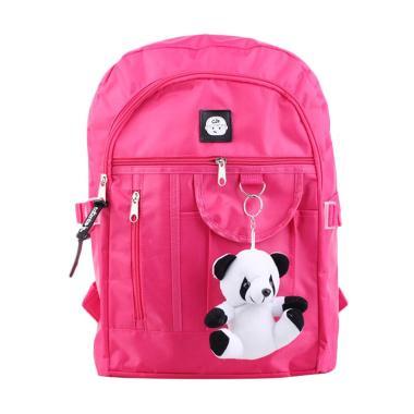 Catenzo Jr. CBD003 Tas Ransel Anak Perempuan with Boneka - Pink