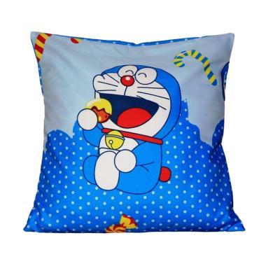 Monalisa Motif Doraemon Sarung Bantal Sofa [30 cm]