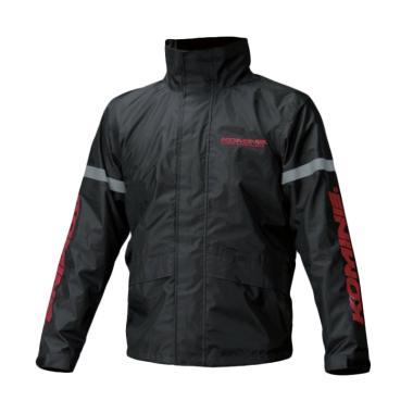 KOMINE RK-543 STD Rainwear Setelan Jas Hujan - Black