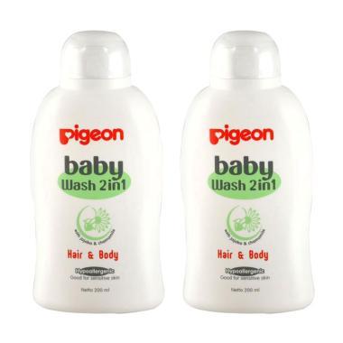 Pigeon PR060402 Chamomile Baby Wash [200 mL/ 2 pcs]