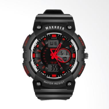 WAKNOER Top Brand Watches Men's Spo ...  Pria - Red [WAKNOER002R]