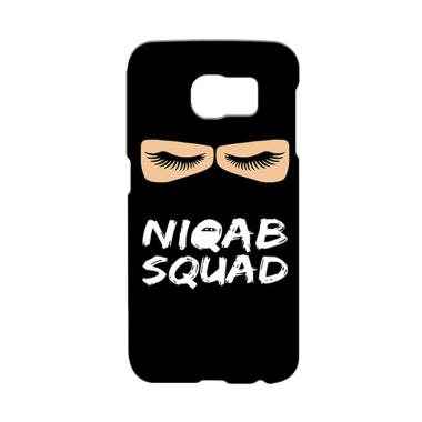 Premiumcaseid Hijab Jet Black Niqab ... or Samsung Galaxy S6 Edge