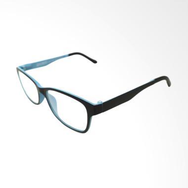 OEM Clip on Frame Kacamata Minus - Blue Black [-1.75]