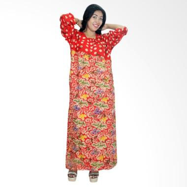 Batik Alhadi RLD001-14D Daster Bati ... Baju Tidur Lengan Panjang