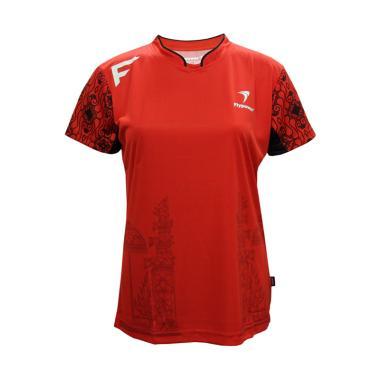 Flypower Batur Kaos Badminton Wanita - Red