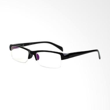 Universal Kacamata Lensa Plus dan Baca - Black [+2.50]