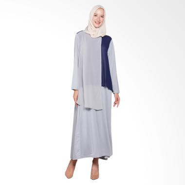 Elzatta Amarylis Gamis Muslim - Grey