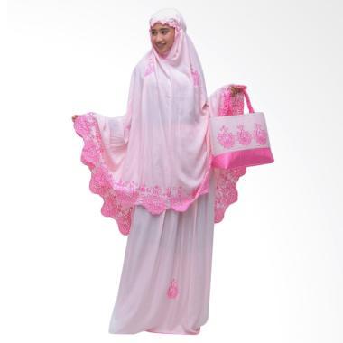 PGM Ayana Manual Mukena - Baby Pink