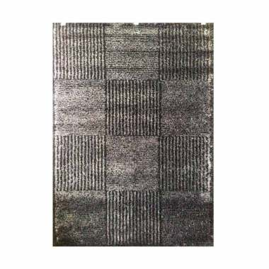 Vision 0872 7L08 Times Square Karpet - Abu-abu [120 x 170 cm]