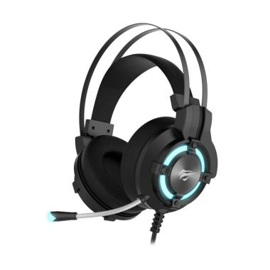 Havit H2212U Headset Gaming - Hitam LED Blue [USB 7.1]