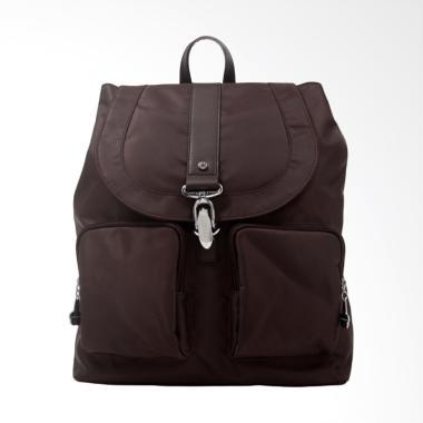 Elizabeth Bag Corrine Backpack - Coklat Tua