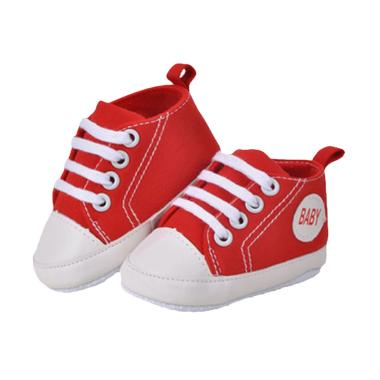 Abby Baby Converse Shoes Sepatu Bayi - Red