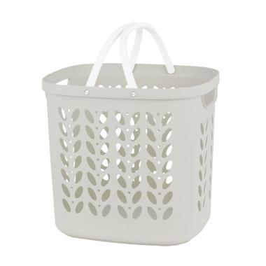 Rovega RLB-100 Laundry Basket Keranjang - Putih