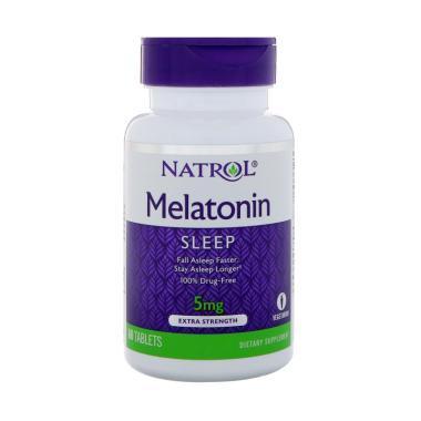 Natrol Melatonin 3 mg Suplemen [60 Tablet]