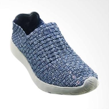 Lulia VS73 Sepatu Rajut Wanita - Navy